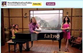 Fabio  Old  Spice Piano
